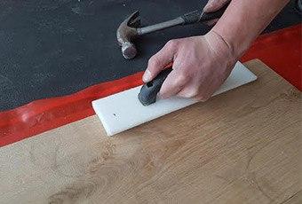 Leggen houten vloeren
