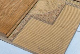 Verlijmen op afwerkvloer